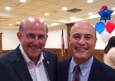 Louie Gohmert @ SFA with Dale Morton